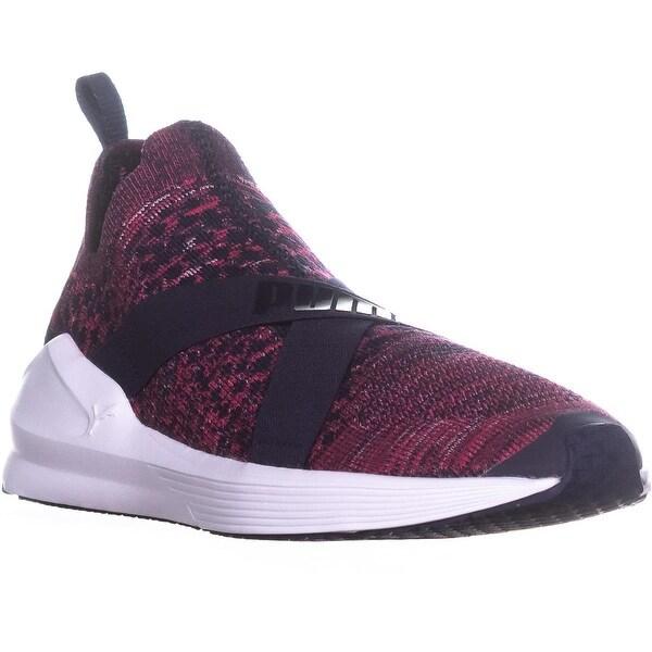 2106818f894b6b Shop Puma Fierce evoKnit High Top Athletic Sneakers