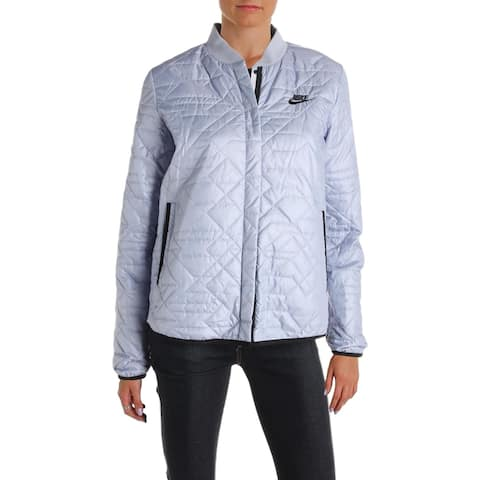 Nike Womens Quilted Coat Fall Warm