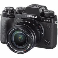 Fujifilm X-T2 Mirrorless Digital Camera 18-55mm