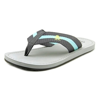 Original Penguin Poolside Men Open Toe Canvas Thong Sandal