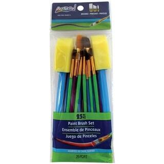 Paintbrush Set 25/Pkg-