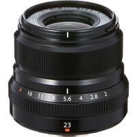 Fujifilm XF 23mm f/2 R WR Lens (Black) (International Model)