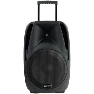 Gemini es-12togo 12 pro dj battery-powered speaker with 2 microphones