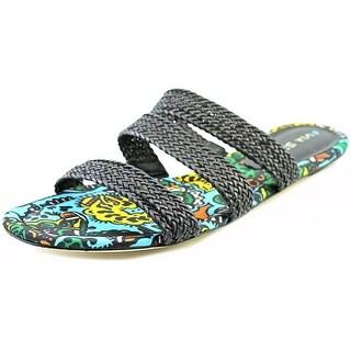 Via Spiga Ilaria Open Toe Synthetic Slides Sandal