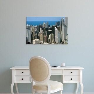 Easy Art Prints Alan Klehr's 'Downtown Chicago' Premium Canvas Art