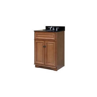 "Sunny Wood BW2421 Briarwood 24"" Maple Wood Vanity Cabinet Only"