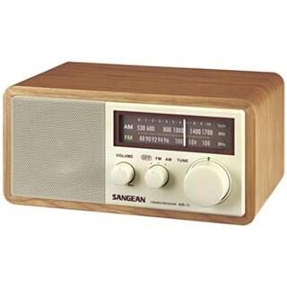 Sangean SAN-WR11M Wood Table Top Radio