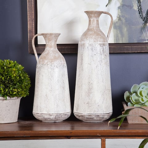 The Gray Barn 2-piece Roma Pitcher Vases