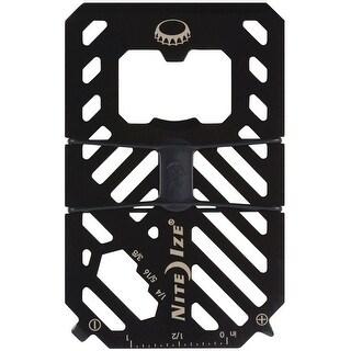 Nite Ize FMT2-01-R7 Universal 7 In 1 Multi Tool Wallet, Black