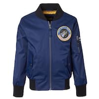 iXtreme Boys Poly Twill Flight Midweight Bomber Jacket with Patches