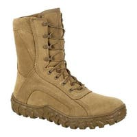 Rocky Men's S2V Tactical Military Boot RKC080 Coyote Brown Leather/Synthetic