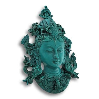 Buddhist Green Tara Mask Wall Hanging