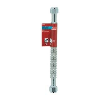 "Homewerks Worldwide 7215-12-34FIP-A Water Heater Supply Line, 12"""