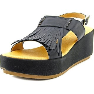 Matisse Tuscany Women Open Toe Leather Wedge Sandal