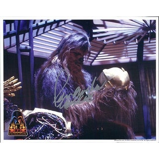 Signed Mayhew Peter Star Wars 8x10 Photo autographed