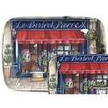 Pimpernel Cafe de Paris Melamine Serving Tray - Thumbnail 0