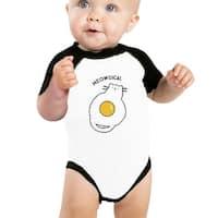 Meowgical Cat Baby Boy Halloween Bodysuit Baseball Raglan Shirt Gift
