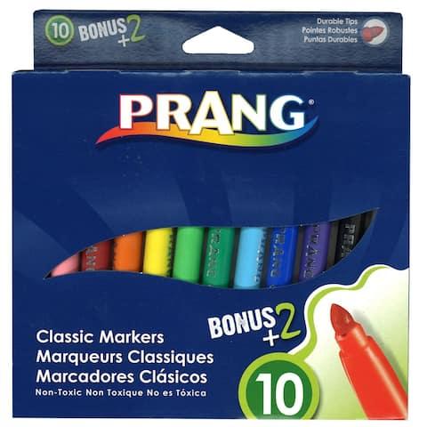 Prang prang art markers classic 12 colors 80012
