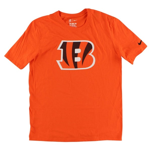 Nike Mens Cincinnati Bengals NFL Primary T Shirt Orange - Orange Black White 46734b828