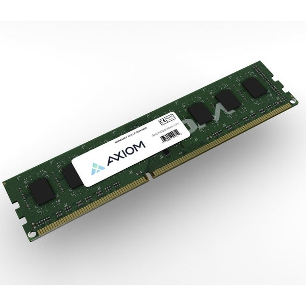 Axiom 0A65729-AX Axiom 4GB DDR3 SDRAM Memory Module - 4 GB (1 x 4 GB) - DDR3 SDRAM - 1600 MHz DDR3-1600/PC3-12800 - Non-ECC -