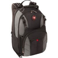 """Wenger 28016050 Wenger SHERPA Carrying Case (Backpack) for 16"" Notebook - Gray - Foam - Shoulder Strap, Trolley Strap,"