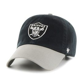 Oakland Raiders Two-Tone Clean Up Cap