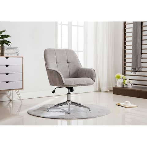 Porthos Home Office Chair with Arms, Height Adjustable
