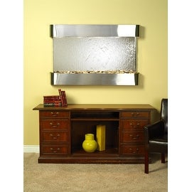 Adagio Sunrise Springs Fountain w/ Silver Mirror in Stainless Steel Finish