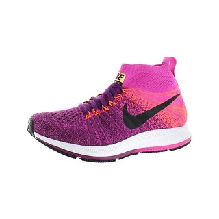 Nike Girls ZM Pegasus All Out Flyknit Running Shoes Big Kid Lightweight