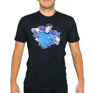 Star Trek Spock Men's Black T-shirt