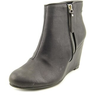 Unlisted Womens Bold Move Closed Toe Ankle Platform Boots