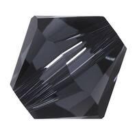 Swarovski Elements Crystal, 5328 Bicone Beads 6mm, 20 Pieces, Graphite