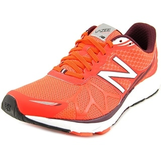 New Balance Pace Men Round Toe Synthetic Orange Running Shoe