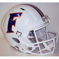 Florida Gators White Alt Riddell Full Size Deluxe Replica Speed Football Helmet