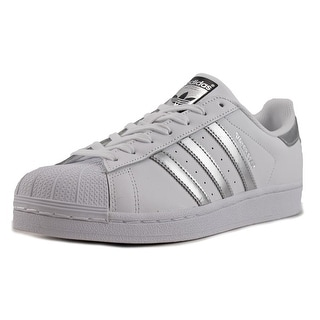 Adidas Superstar W Women Round Toe Leather White Sneakers