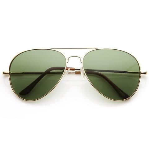 Classic Original Iconic Metal Aviator Sunglasses