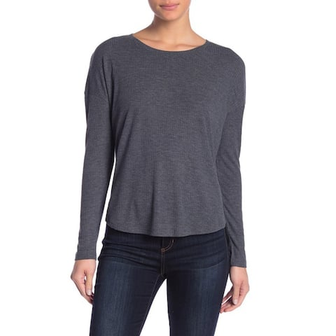 Abound Women's Long Sleeve Sweater, Grey Heather, XX-Small