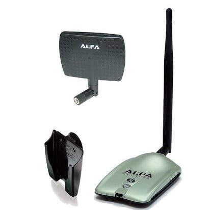 Alfa AWUS036NH 2000mW 2W 802.11g/n High Gain USB Wireless G / N Long-Range WiFi Network Adapter