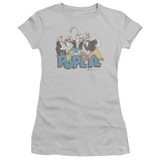 Popeye The Gang Juniors Short Sleeve Shirt