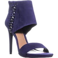 Vince Camuto Freya Open Toe Ankle Strap Sandals, Outer Space - 7 us / 37 eu