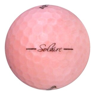24 Callaway Solaire Pink - Value (AAA) Grade - Recycled (Used) Golf Balls