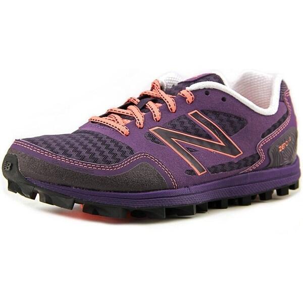 New Balance WT00 Women D Round Toe Synthetic Purple Trail Running