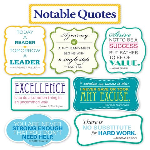 Scholastic (2 st) notable quotes bb st 810509bn