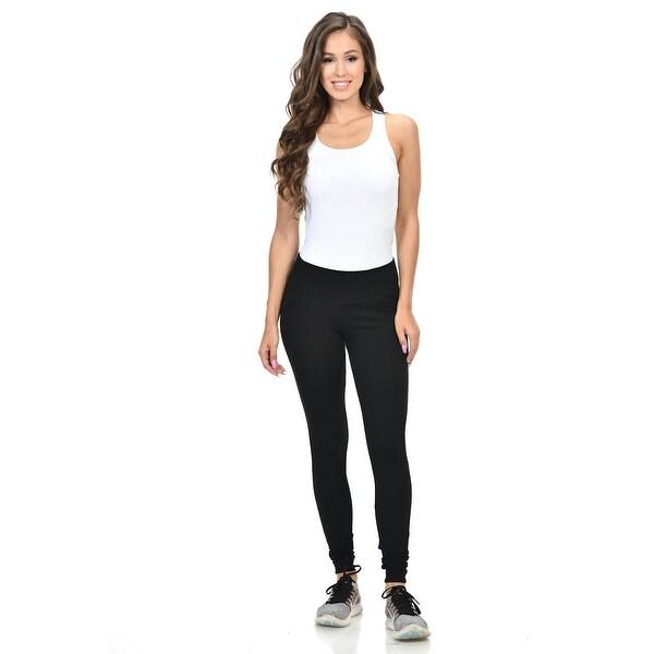 e09acc35ad6b8 Diamante Women's Power Flex Yoga Pants Leggings Sportswear - Style  P162023 -