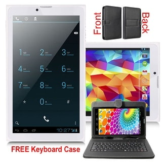 Indigi® 3G Unlocked Android 4.4 Smartphone + TabletPC WiFi + Bluetooth Sync + Dual SIM w/ Keycase included