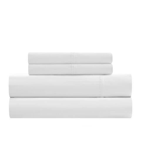 Nile Harvest 100% Egyptian Cotton Sheet set White