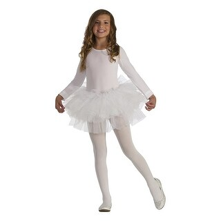 Fluffy Tutu Child's Costume White