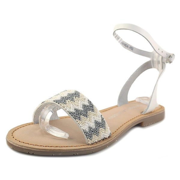 Chinese Laundry Baby Women Open Toe Synthetic White Sandals