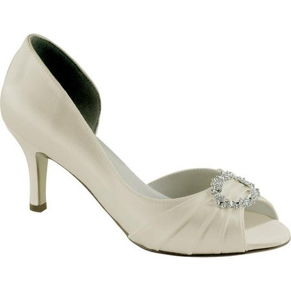 faa014d8b2f Shop Touch Ups Women s Ivanna Ivory Satin - On Sale - Free Shipping Today -  Overstock - 24304419