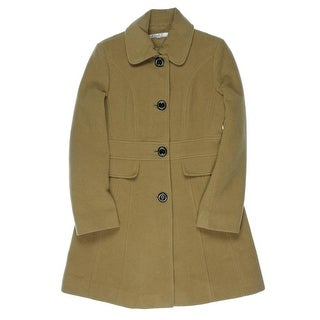 Kenneth Cole New York Womens Coat Wool Collared